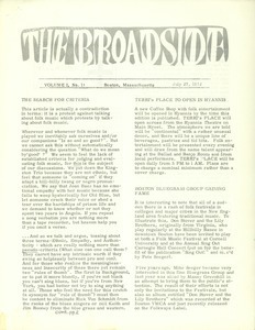 The Broadside. Vol. 1, no. 11