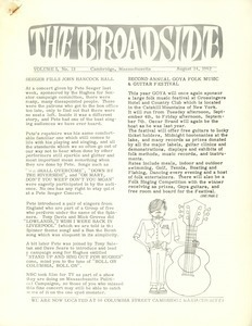 The Broadside. Vol. 1, no. 13
