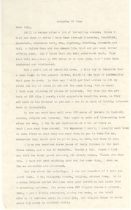 Letter from Joseph Langland to Judith G. Wood Langland