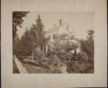 Exterior view of the Heath House, Melrose, Mass., undated