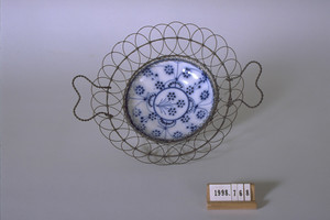 Basket and plate