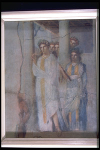 Print of Pompeii Wall Painting
