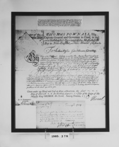 Military commission certificate