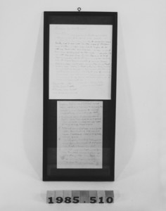 Reproduction letter