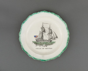"""Sally of Boston"" Plate"