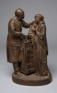 Rogers Group Sculpture - The Charity Patient