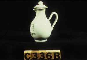 Cream pitcher with cover