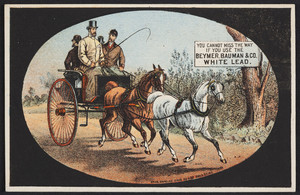 Trade card for Beymer, Bauman & Co. White Lead, location unknown, undated