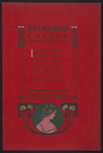 Princess Covers, C.H. Dexter & Sons, Windsor Locks, Connecticut, undated