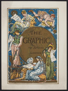 Handbill for The graphic, 190 Strand, London, England, 1876