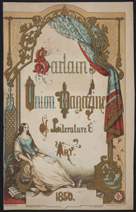 Cover for Sartain's union magazine of literature & art, John Sartain & Company, Philadelphia, Pennsylvania, 1850