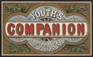 Trade card for The Youth's companion, Perry Mason & Co., Boston, Mass., undated