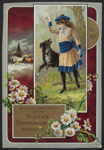 Trade card for The youth's companion, Boston, Mass., 1887