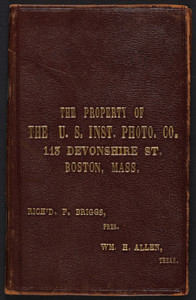 Property of The U.S. Instantaneous Photographic Company, 113 Devonshire Street, Boston, Mass., undated