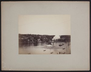 River and steamer, Haverhill, Mass., undated