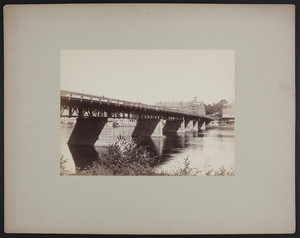 Bridge at Haverhill, undated