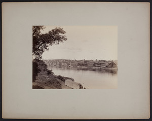 Haverhill from bridge, undated