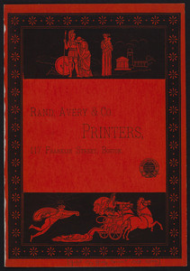 Cover for Rand, Avery & Co., printers, 117 Franklin Street, Boston, Mass., undated
