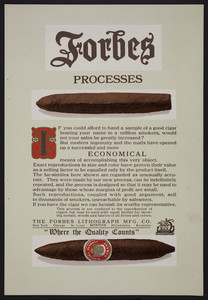 Forbes Processes, The Forbes Lithograph Mfg. Co., Boston, Mass., undated