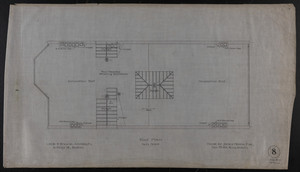 Roof Plan, House for James Means, Esq., Bay State Road, Boston, Feby. 26, 1897