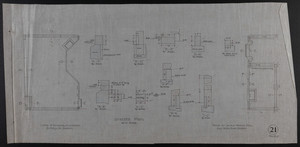 Granite Plan, House for James Means, Esq., Bay State Road, Boston, Feby. 26, 1897