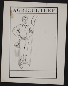 Sample for agriculture advertisement, location unknown, undated