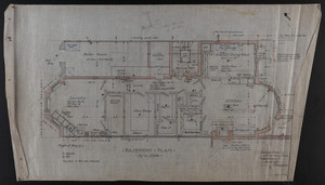 Basement Plan, Dec. 23, 1905