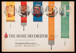 Home decorator, the book of painting and decorating ideas, published by The Sherwin-Williams Co., Cleveland, Ohio