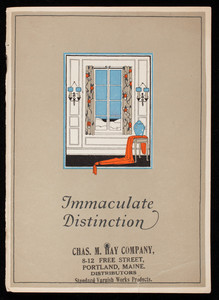 Immaculate distinction, Satinette Enamel, manufactured by Standard Varnish Works, New York, Chicago, London