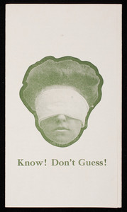 Know! Don't guess! Harrison Bros. & Co., Inc., paint, colors, varnish, Philadelphia, Pennsylvania