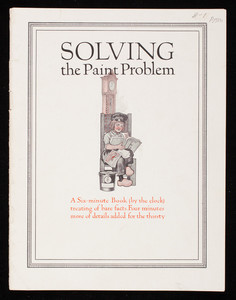 Solving the paint problem, published by National Lead Co., New York, New York