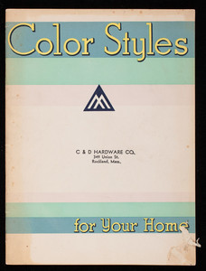 Color styles for your home, Benjamin Moore & Co., New York, New York
