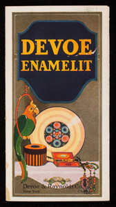 Devoe Enamelit, manufactured by Devoe & Raynolds Co., Inc., New York and Chicago