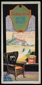 Certain-teed House Paint, Certain-teed Products Corporation, St. Louis, Missouri