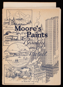 Moore's Paints, beautify and protect, Benjamin Moore & Co., New York, New York