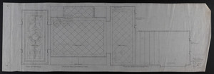 Plans of vestibule and entrance halls, January