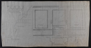 Elevation of Hall Toward Fire Place, December 26, 1905