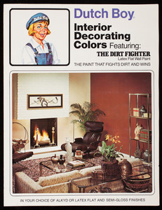 Dutch Boy Interior Decorating Colors Featuring The Dirt Fighter Latex Wall  Paint, Dutch Boy Paints Coatings Group, Dutch Boy, Inc., Cleveland, Ohio