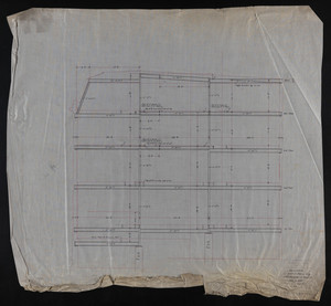 Architectural drawing for the residence of Arthur Perry, Jan. 17, 1905