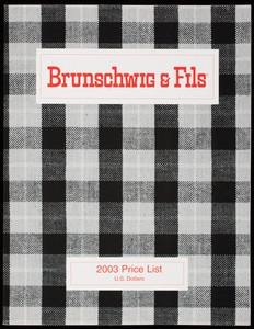 Brunschwig & Fils 2003 price list, 75 Virginia Road, North White Plains, New York