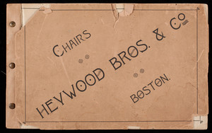 Chairs, Heywood Bros. & Co., Boston, Mass.