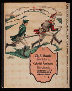 Cushman presents the finest in colonial furniture, H.T. Cushman Mfg. Co., North Bennington, Vermont