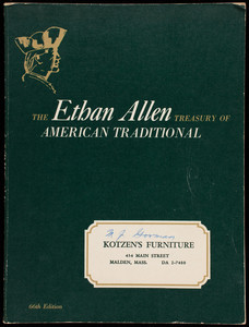 Ethan Allen treasury of American traditional, 66th edition, Baumritter Corp., New York, New York, ca. 1960
