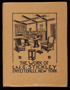 Work of L. & J.G. Stickley, Fayetteville, New York
