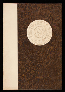 Illustrated book about the product of the Chalmers Motor Car Company, Detroit, Michigan