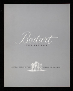 Bodart Furniture, interpreting the spirit of France, Bodart Furniture, Inc., 964 Monroe Avenue, northwest Grand Rapids, Michigan