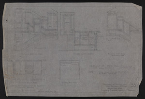 Details of Stair Hall (Revised From Drawing No. 17), Drawings of House for Mrs. Talbot C. Chase, Brookline, Mass., Revised Feb. 20, 1930
