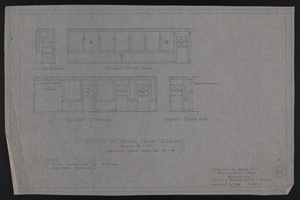 Details of Second Floor Corridor (Revised From Drawing No. 18), Drawings of House for Mrs. Talbot C. Chase, Brookline, Mass., January 8, 1930