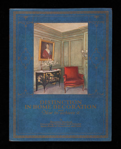 Distinction in home decoration and how to achieve it, by Henrietta Murdock, Upson Studio of Decoration and Color, Upson Company, Lockport, New York
