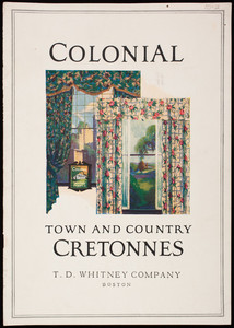 Colonial Town and Country Cretonnes, T.D. Whitney Company, Marshall Field & Company, Chicago, Illinois